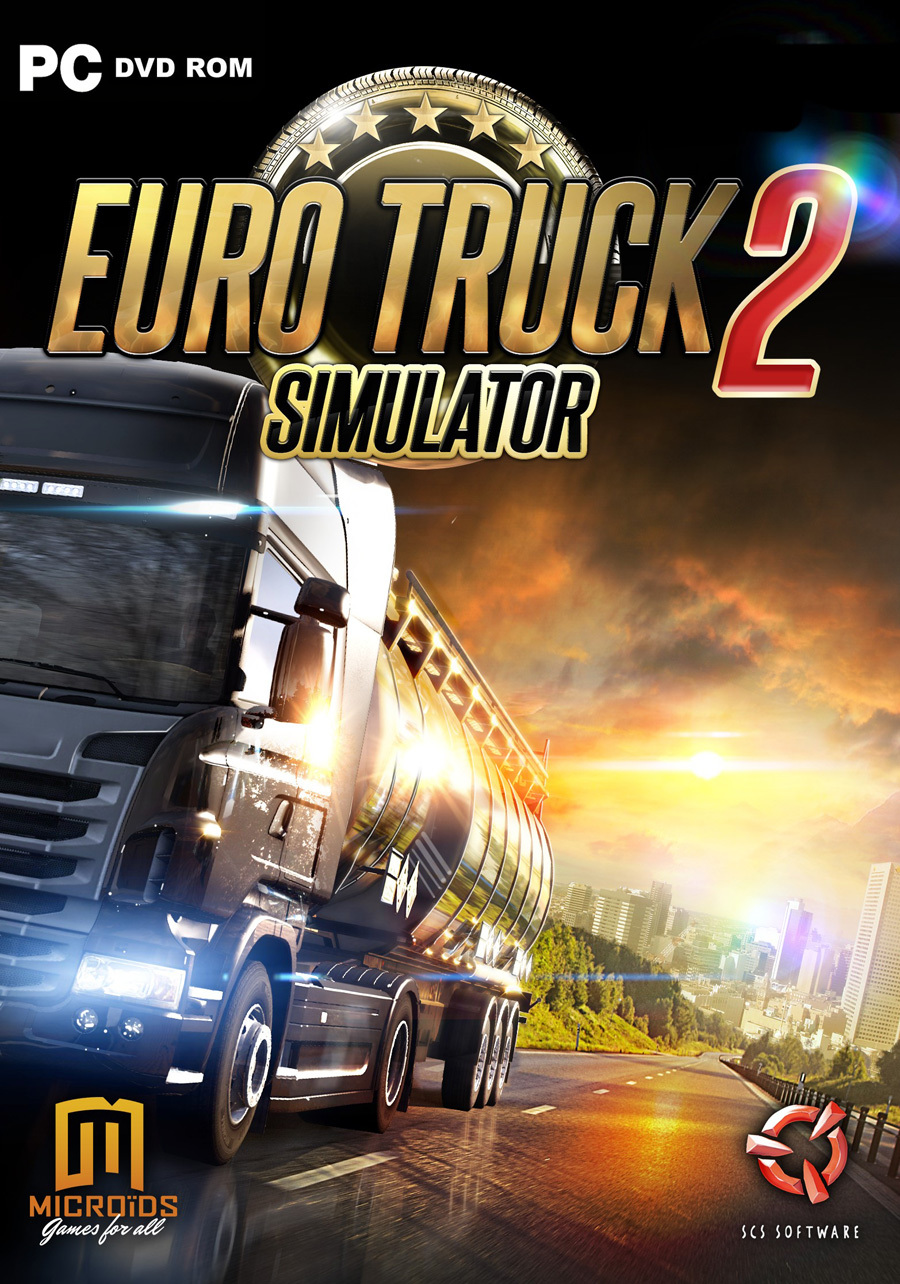 كيفية تحميل لعبة euro truck simulator 2