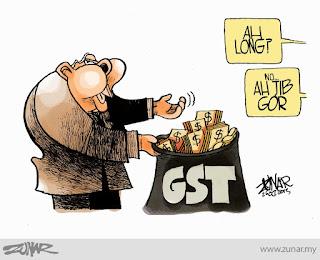 Singapore, Australia ok je laksana GST