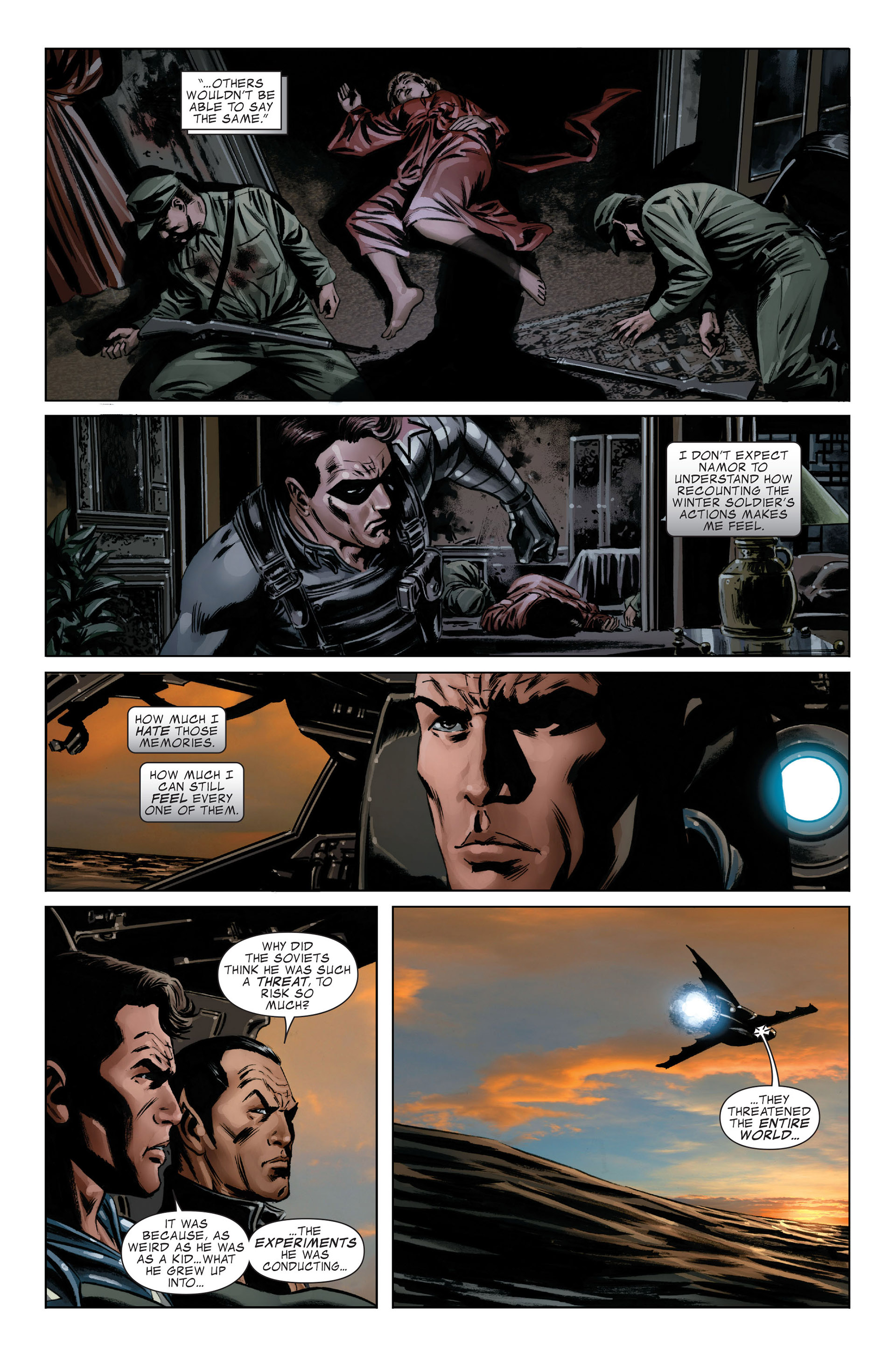 Read online Captain America (2005) comic -  Issue #46 - 12