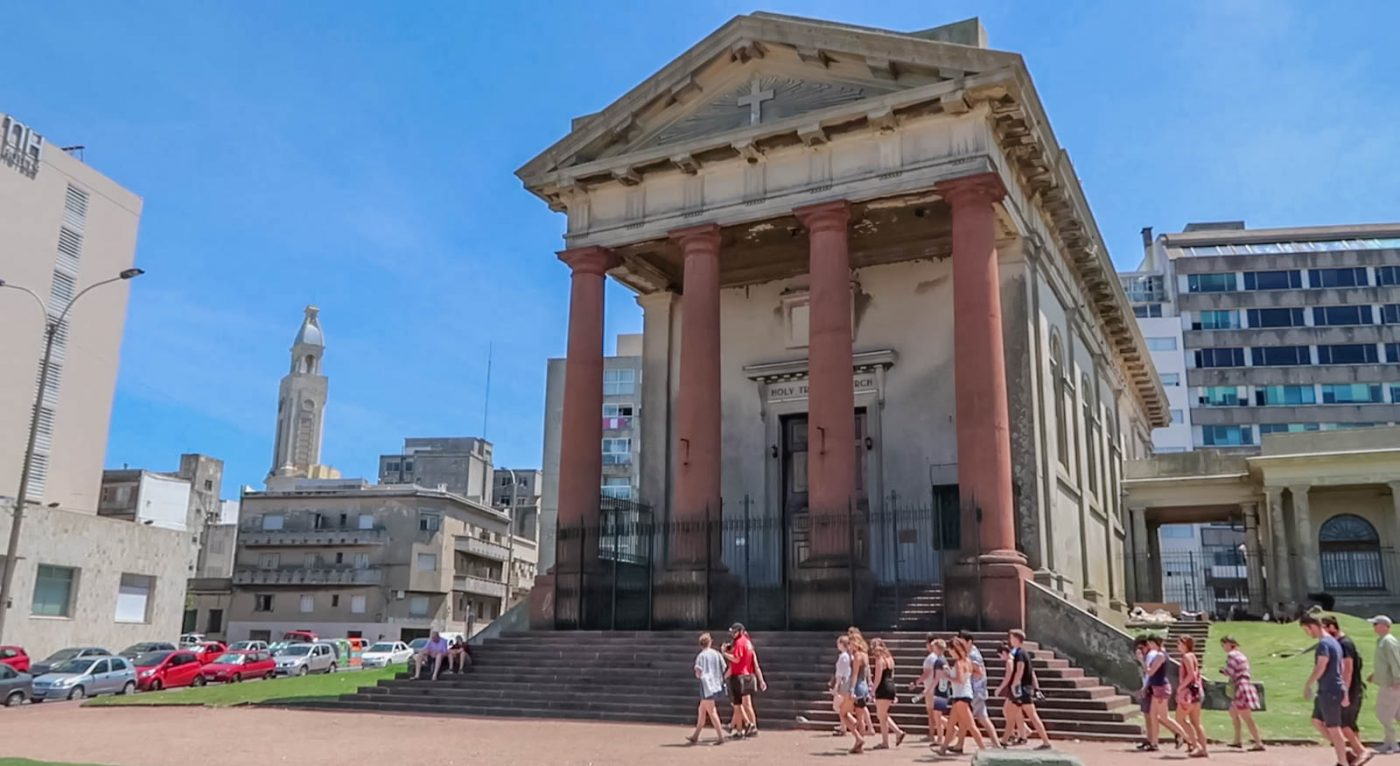 montevideo is the fancy capital city of uruguay a country in south america it is situated on the east bank of the rio de la plata and is the southernmost