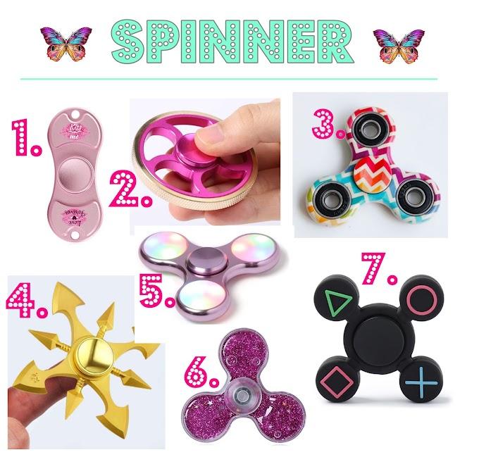 Lista de desejos Spinners