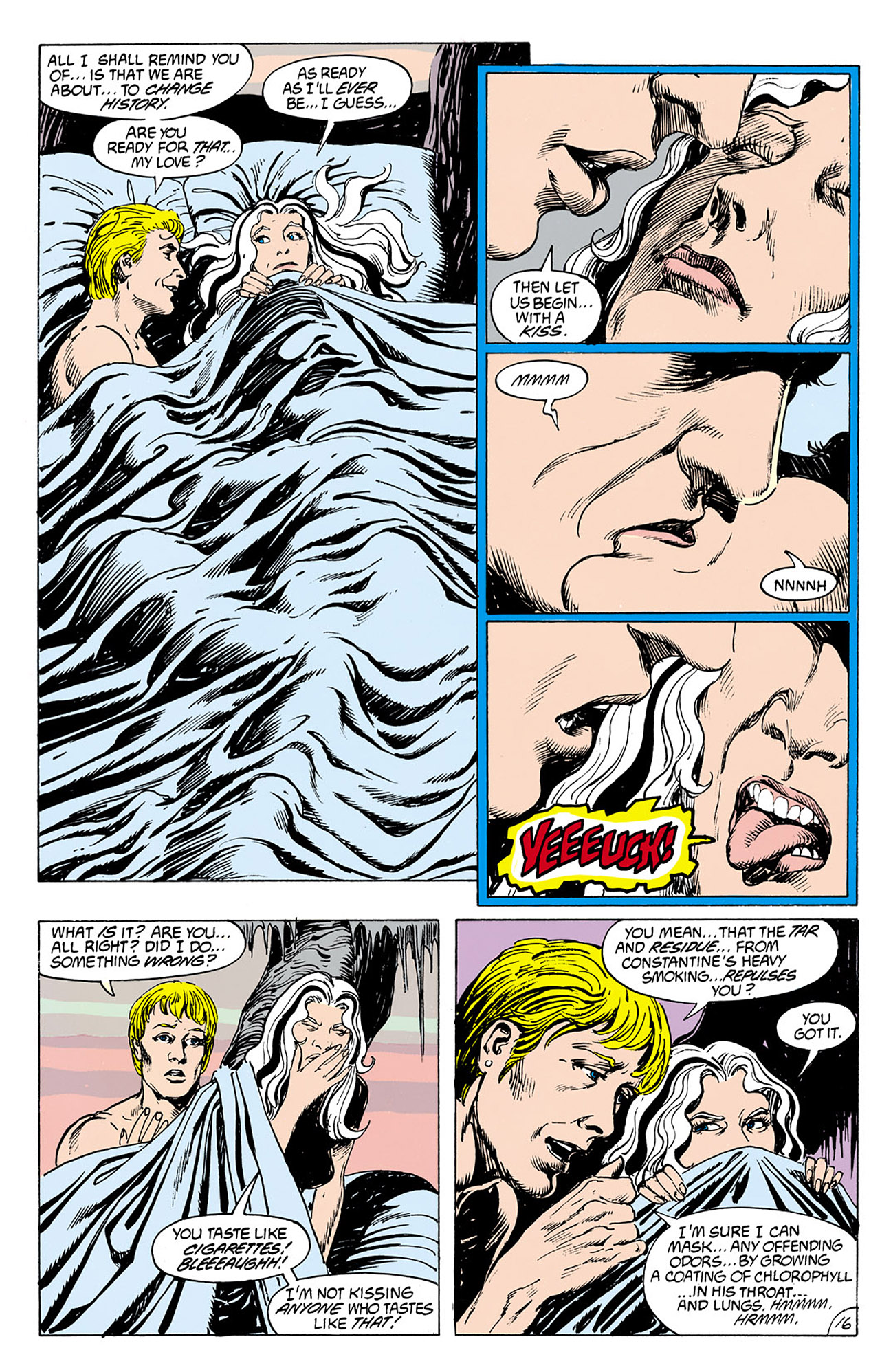 Swamp Thing (1982) Issue #76 #84 - English 16