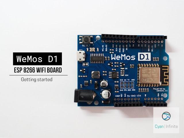 Wemos D1 ESP8266 Board