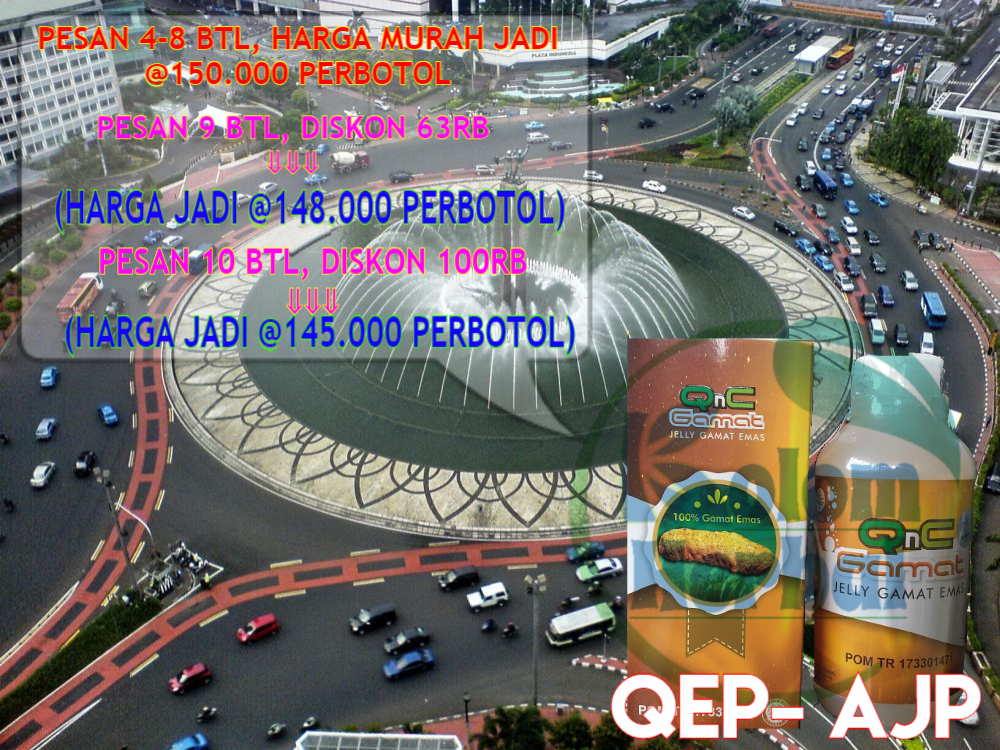 Agen Qnc Jelly Gamat Di Jakarta Pusat