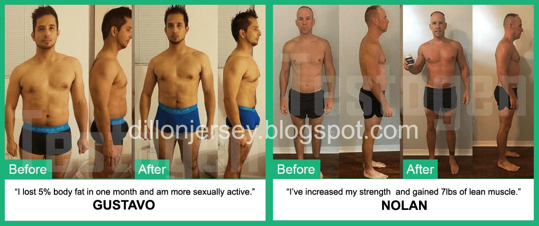 testogen results