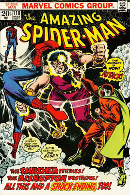 Amazing Spider-Man #118, the Disruptor and the Smasher