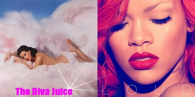 Katy Perry Vs Rihanna Teenage Dream Vs Loud