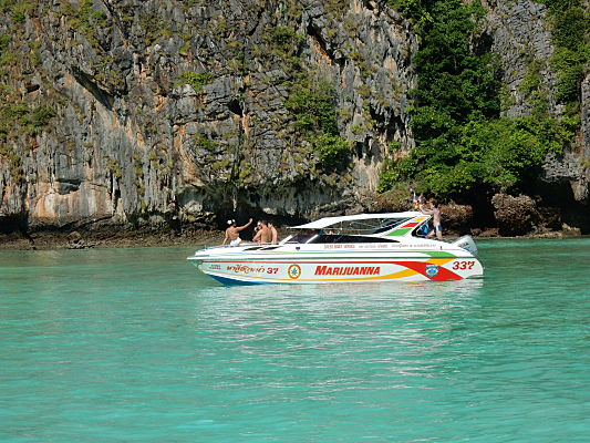 passeio barco krabi tailandia