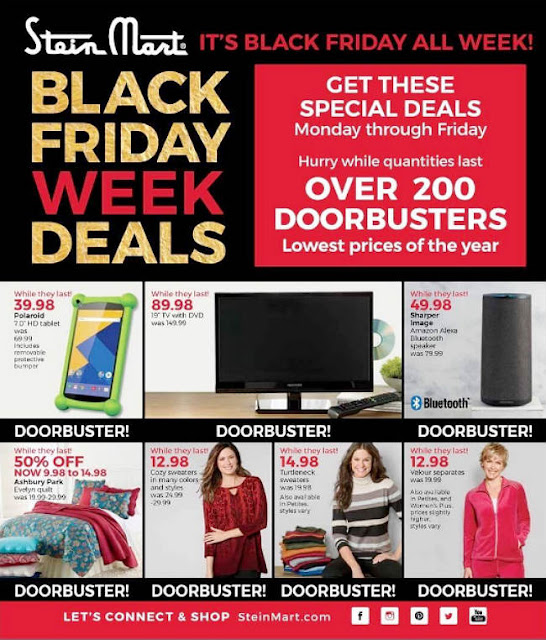 Stein Mart Black Friday 2017 Ad