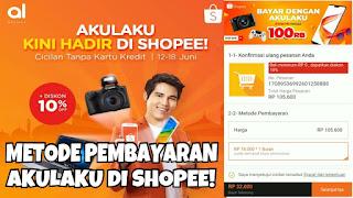 Pasalnya belanja online tidak perlu ribet Tutorial Kredit Di Shopee Bunga 0%, Murah Dan Mudah