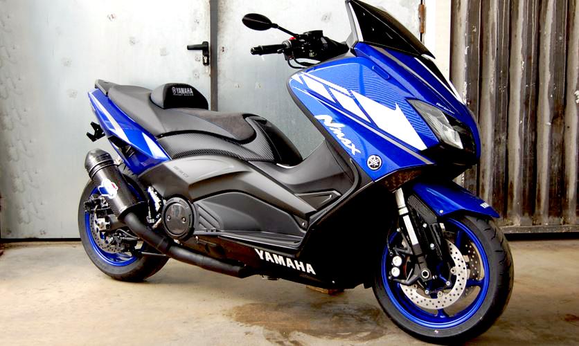 modifikasi motor yamaha nmax foto gambar11  terbaru