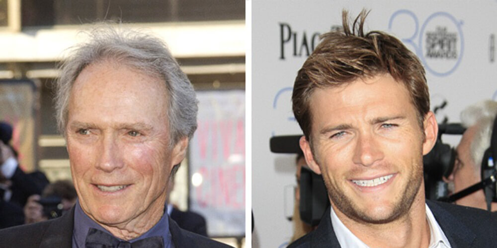 Clint Eastwood e Scott Eastwood