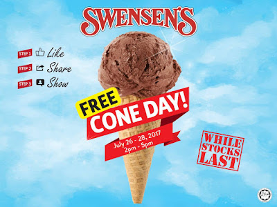 Swensen's Malaysia Free Ice Cream Cone Day Melawati Mall