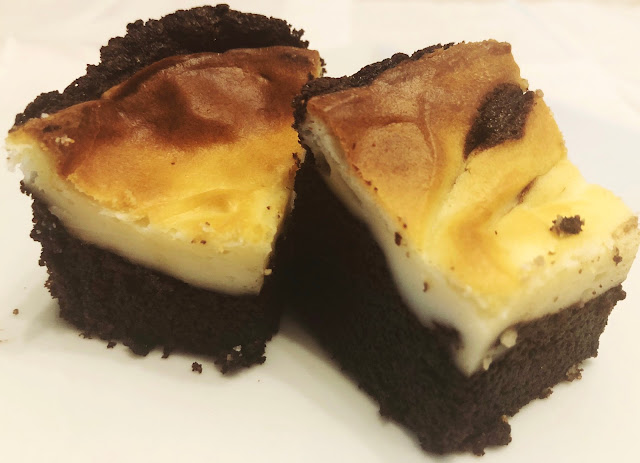 Brownie con Tarta de Queso