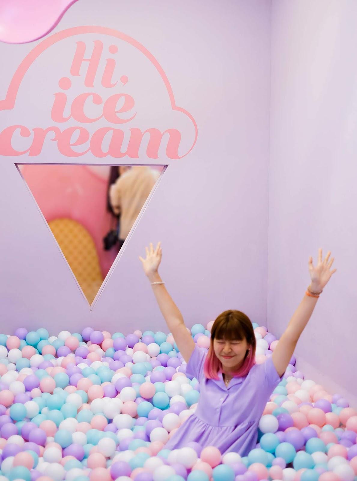Hi Ice Cream Exhibition Ball Pool | www.bigdreamerblog.com