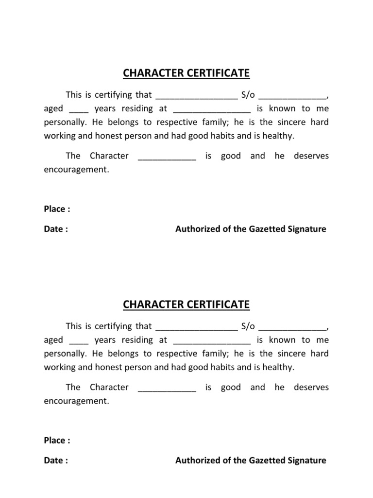 Character certificate format for student pdf image collections character certificate format by gazetted officer pdf download character certificate format by gazetted officer pdf download altavistaventures Image collections
