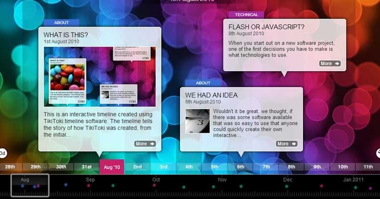 Tiki Toki - Para crear líneas de tiempo interactivas