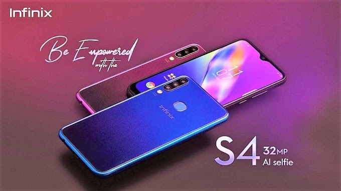 Infinix S4 2.0 camera smartphone launched
