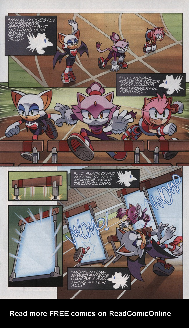 Read online Sonic The Hedgehog comic -  Issue #242 - 11