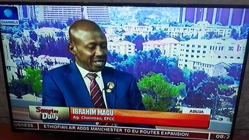 Maina Is Still A Wanted Person - EFCC Boss, Magu Speaks High Profile Corruption Cases