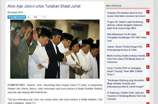 Ilmu 3 in 1 ahok undang jokowi : Surat AtTaubah Mirip Pembangunan Mesjid oleh Ahok di DKI Jakarta