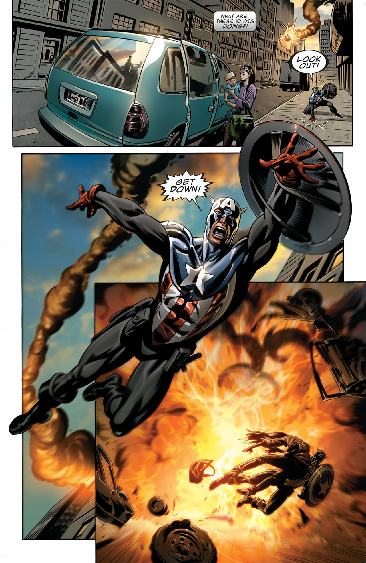 Read online Captain America (2005) comic -  Issue #50 - 14