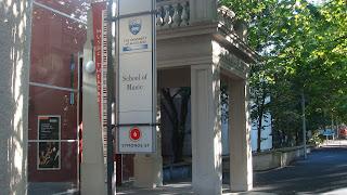 Facultad de Música de la Universidad de Auckland.