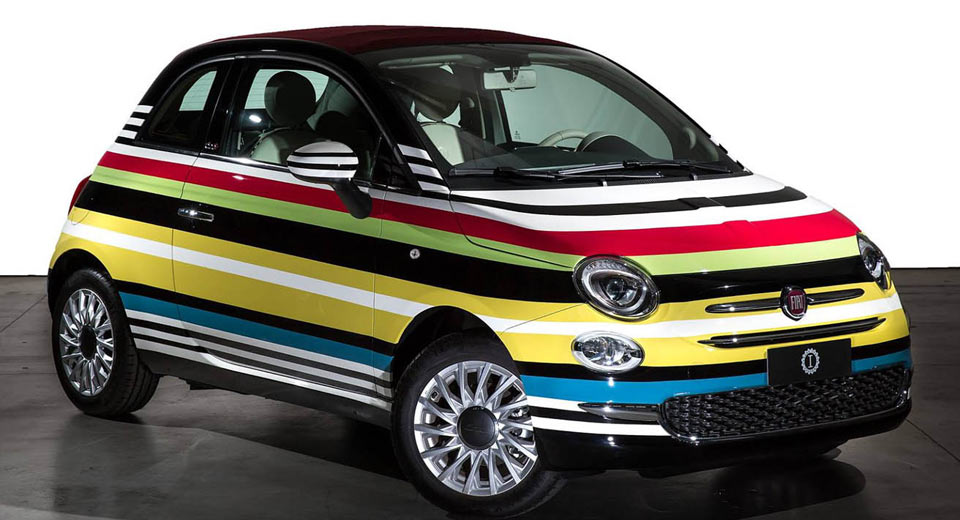 This One-Of-A-Kind Fiat 500C Missoni Edition Just Sold For $60k
