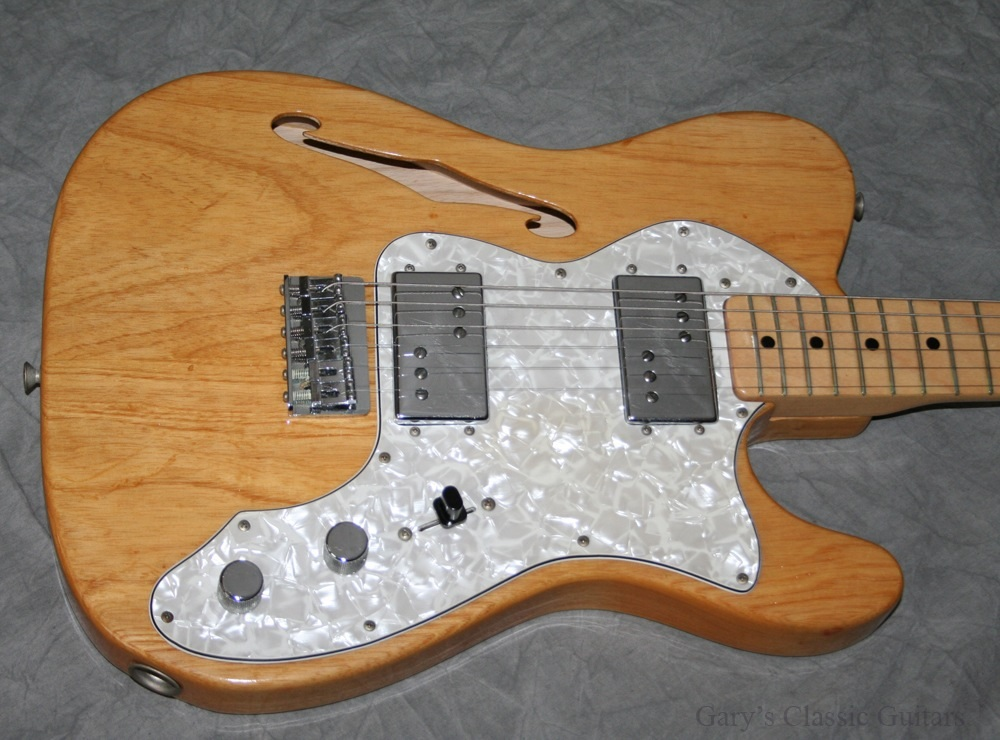 the unique guitar blog fender telecaster thinline. Black Bedroom Furniture Sets. Home Design Ideas