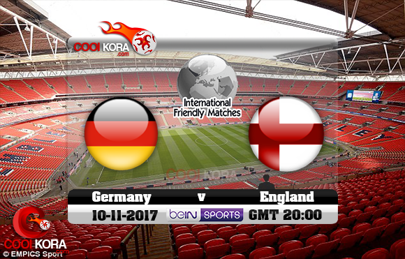 مشاهدة مباراة إنجلترا وألمانيا اليوم 10-11-2017 مباراة ودية