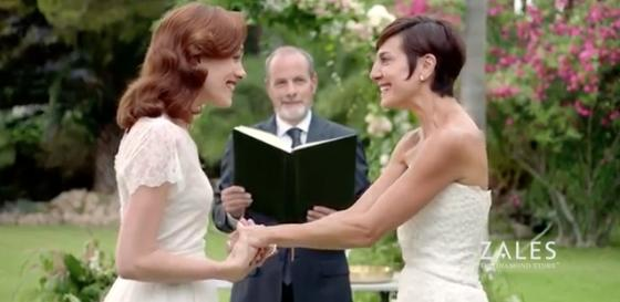 Zales Lesbian Advertisement