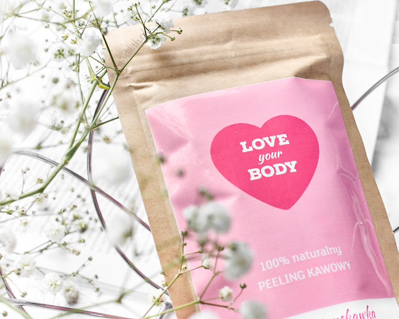Love your body peeling kawowy blog opine