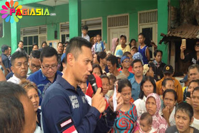 Agus Yudhoyono Menyindir di Depan Warga Marunda 'Kalau Salah Pilih Sengsaranya 5 tahun ke Depan'