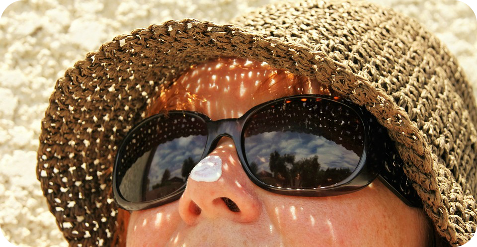 wear sunscreen to protect your skin