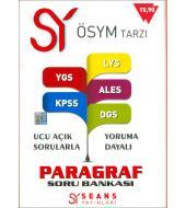Paragraf Soru Bankası (YGS,LYS,KPSS,ALES,DGS)