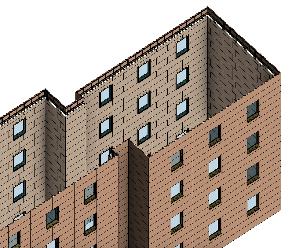 how to create facade in revit