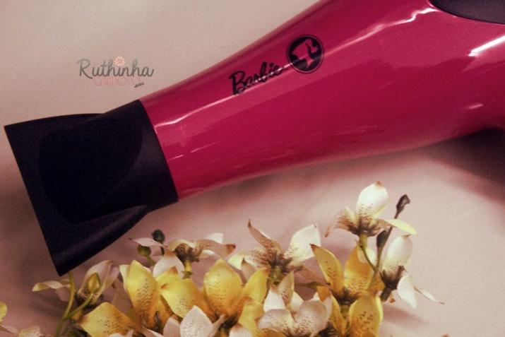 secador cabelos barbie GA>MA italy loja concept boneca rosa tourmaline technology óin potência glamour