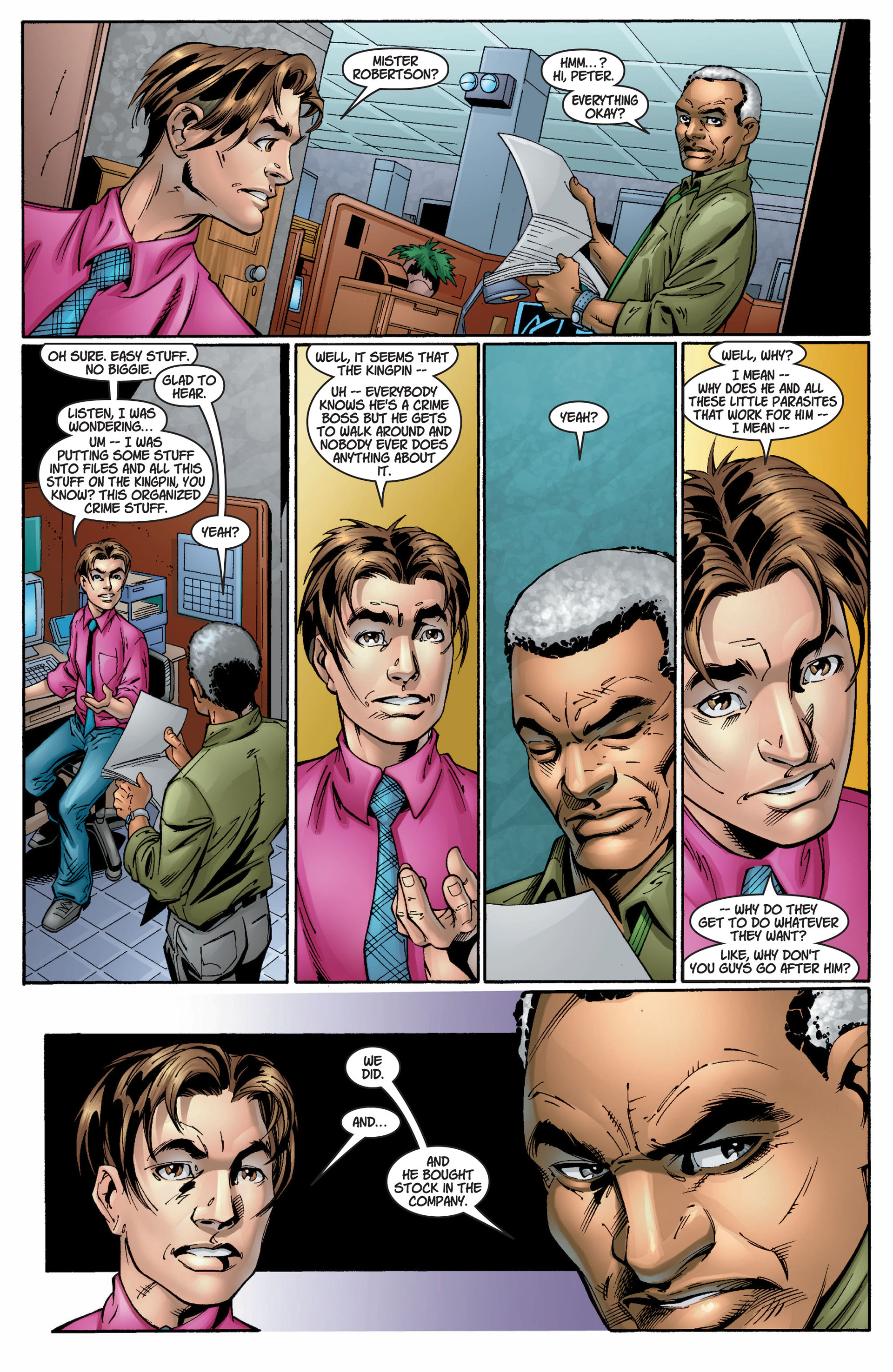 Read online Ultimate Spider-Man (2000) comic -  Issue #8 - 22