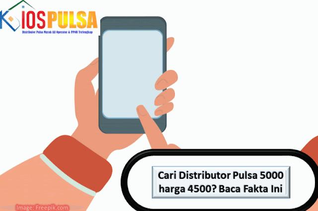 Distributor Pulsa 5000 harga 4500