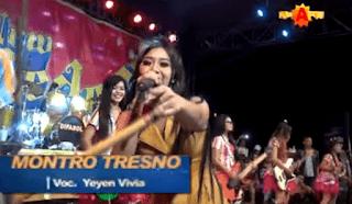 Lirik Lagu Montro Tresno - Yeyen Vivia