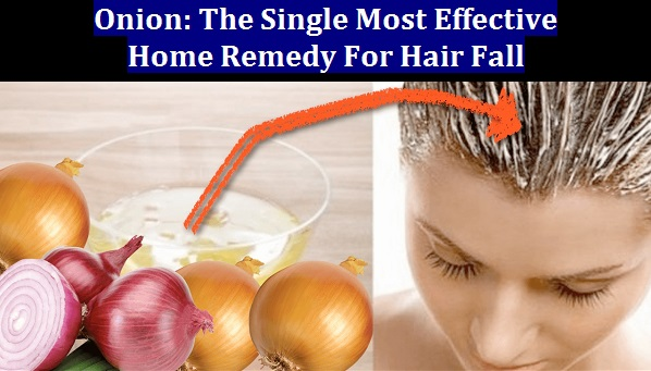 Onion: The Single Most Effective Home Remedy For Hair Fall