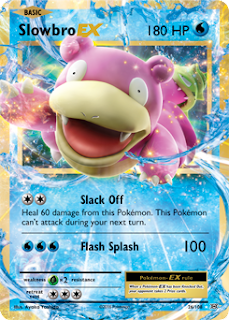 Slowbro EX Evolutions Pokemon Card
