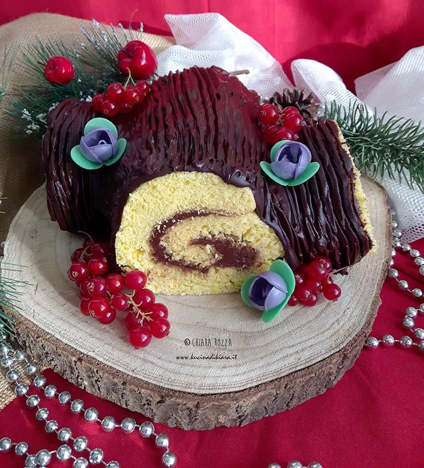 Tronchetto Di Natale Buche Noel.Tronchetto Di Natale Buche De Noel Kucina Di Kiara