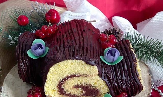 Tronchetto di Natale (Buche de Noel)