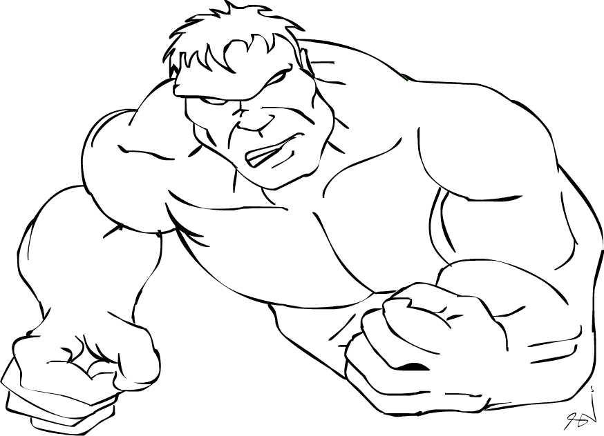 Ignite Dreams : 2D Work of Incredible Hulk