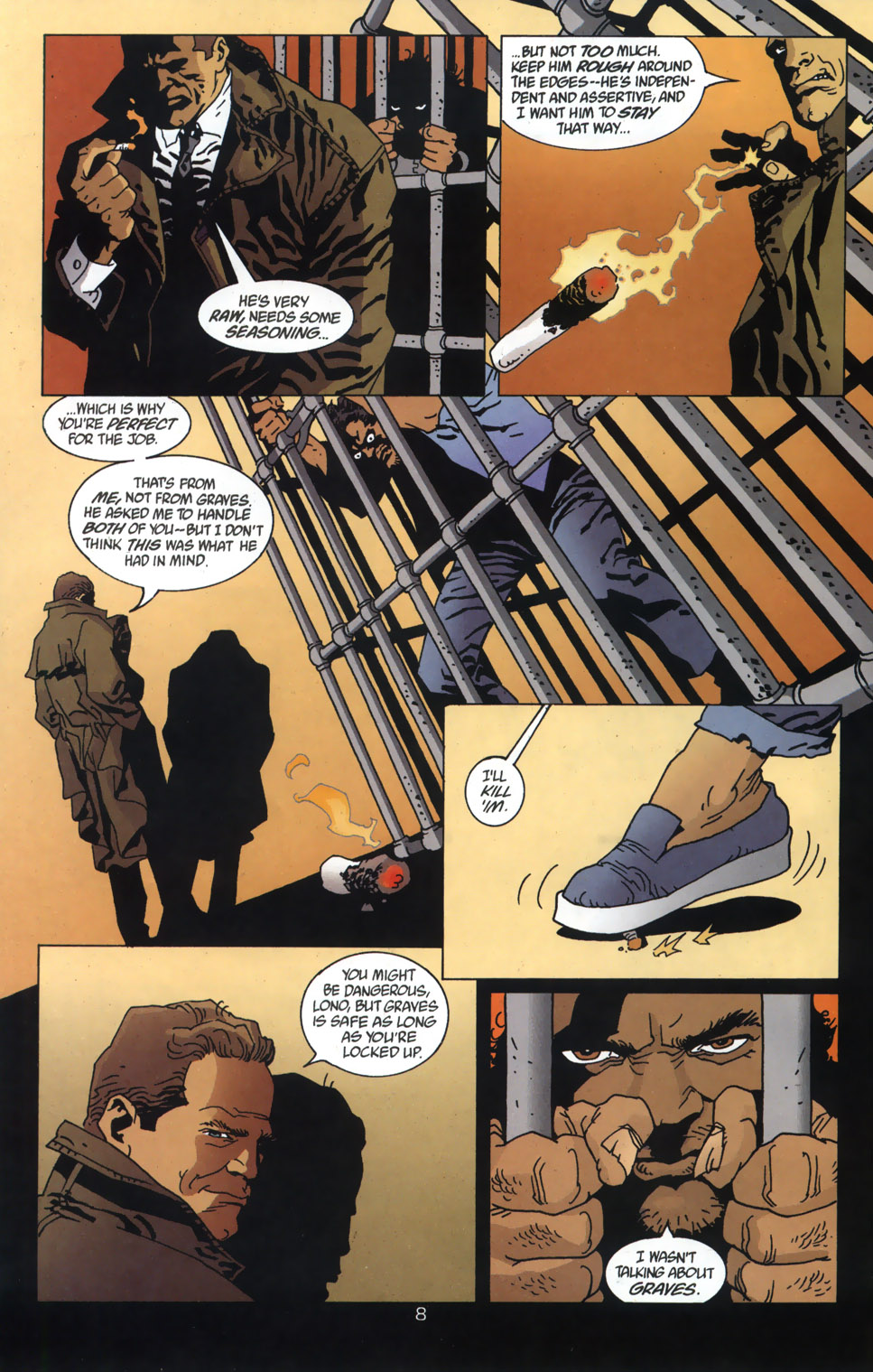 Read online 100 Bullets comic -  Issue #46 - 9