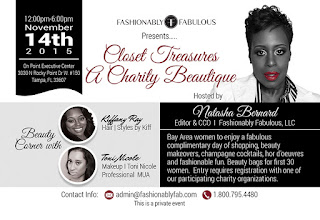 Fashionably Fabulous Charity Event Closet Treasures for Teen Girls