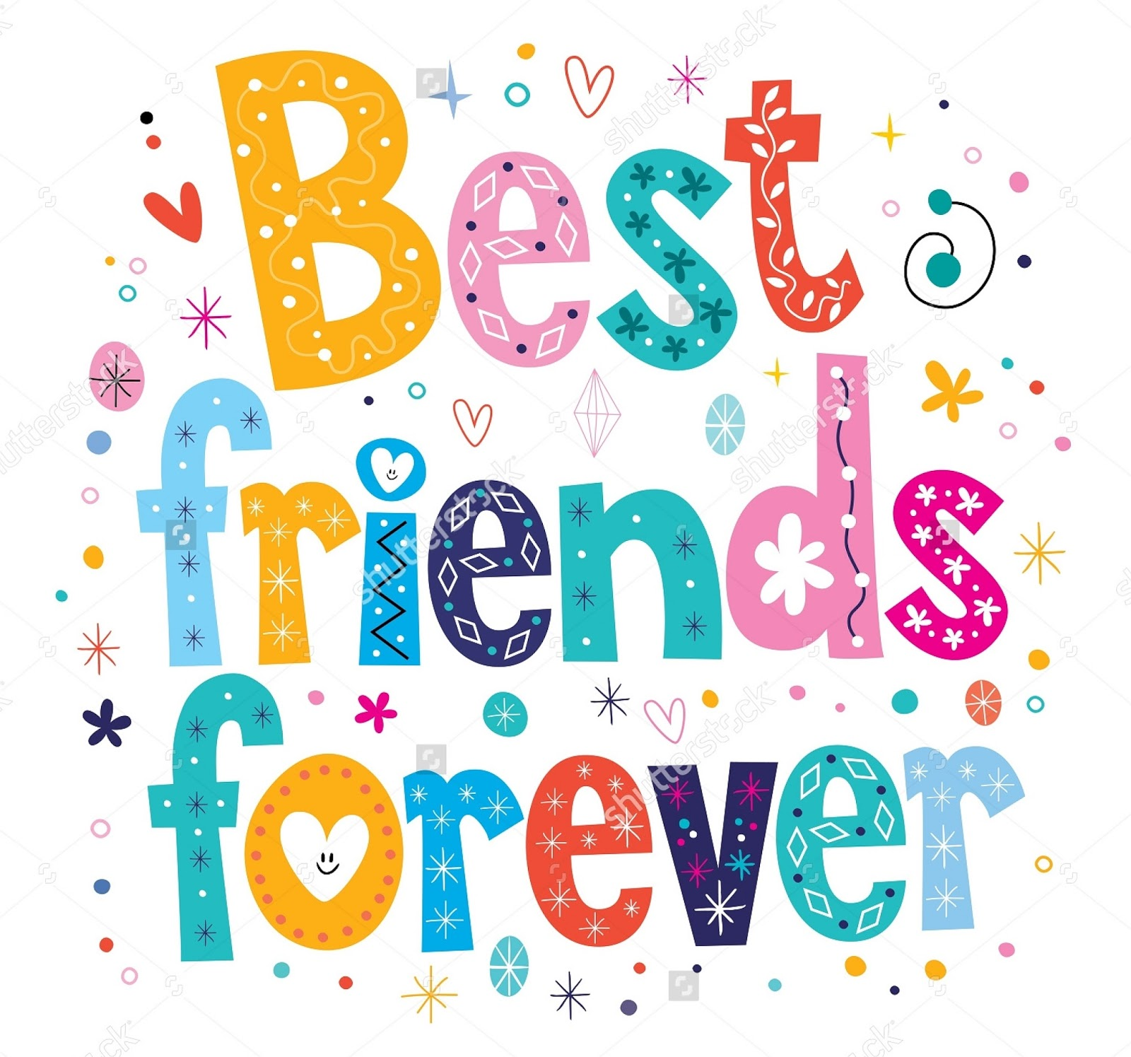 WALLPAPER BEST FRIENDS FOREVER Gambar Kartun Lucu Dan Wallpaper