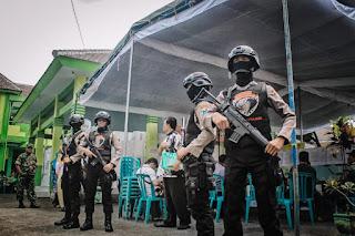 Seluruh PPK  Dijaga Aparat Bersenjata Laras Panjang, Kapolres Perintahkan  Tindak  Tegas Pengganggu  Pemilu