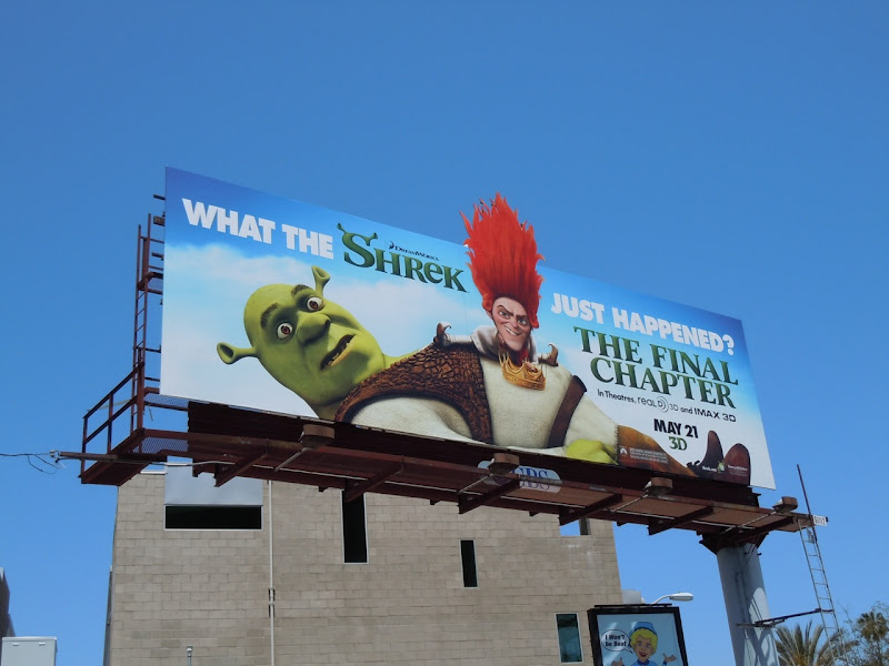 Shrek Final Chapter billboard